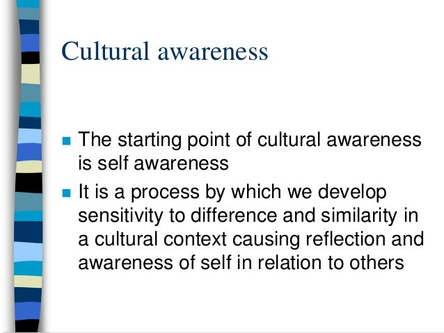 how to develop cultural awareness