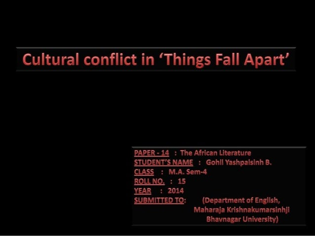 things fall apart culture Things fall apart is a post-colonial novel written by nigerian author chinua achebe in 1958 it is seen as the archetypal modern african novel in english, one of the first to receive global critical acclaim.