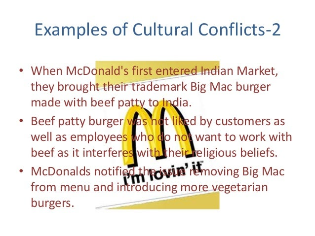 cultural conflicts in organisations