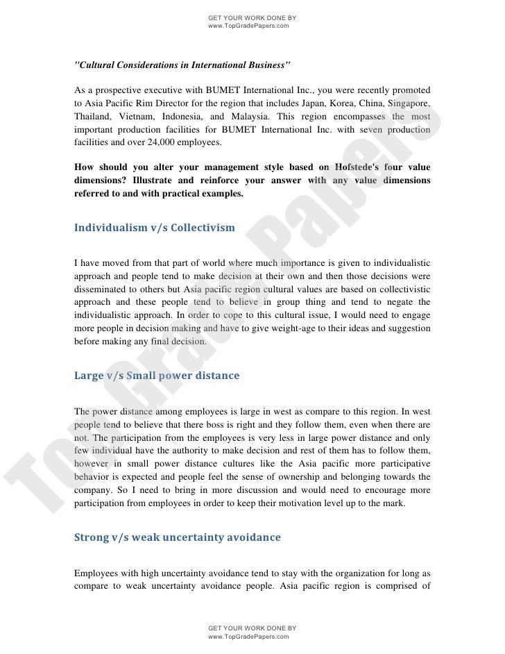 Tata Motors - International Business Term Paper