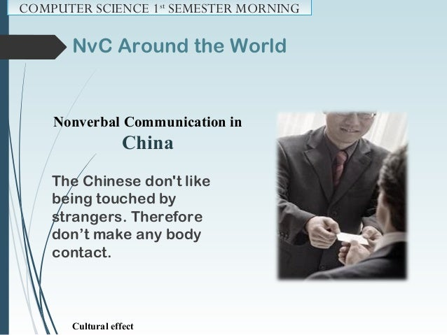 NvC Around the World Nonverbal Communication in Argentina A handshake and nod show respect when greeting someone. Cultural...