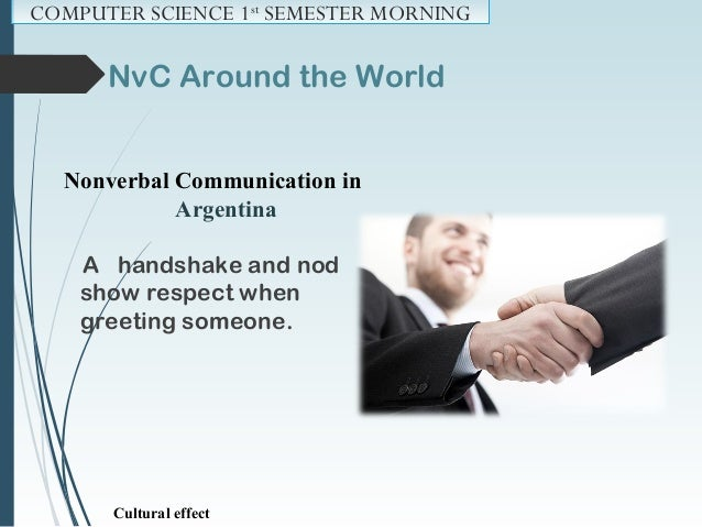 NvC Around the World Nonverbal Communication in India Namaste or namaskar is used as a respectful form of greeting. Namste...