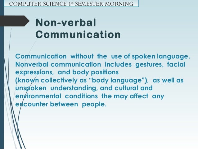 Cultural Difference  Nonverbal differences account for difficulties in communicating.  Nonverbal communication is especi...