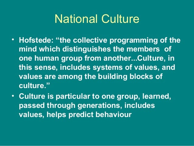 collective programming of the mind