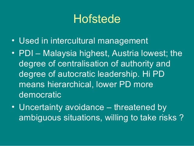 """hofstede 5 cultural dimensions vietnam Between vietnamese culture and qm in vietnamese heis  5 hofstede""""s six  cultural dimensions the impact of national culture on the qm in heis can be."""