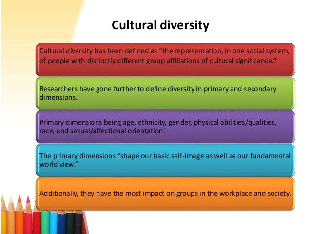 importance of understanding cultural diversity essay Cultural diversity essay topics cultural diversity is a term given to the importance of china understanding cultural diversity - valuing and comprehension.