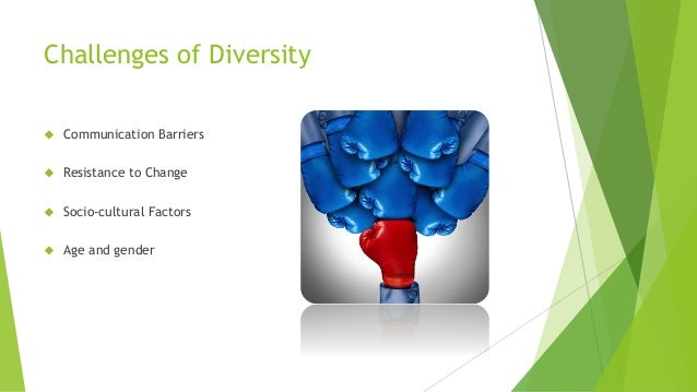 the challenges of cultural diversity in In between all of this, diversity also plays an ever increasing larger role as well because it automatically addresses these challenges and skills shortages by opening more opportunities within the recruitment, hiring, and retention processes.