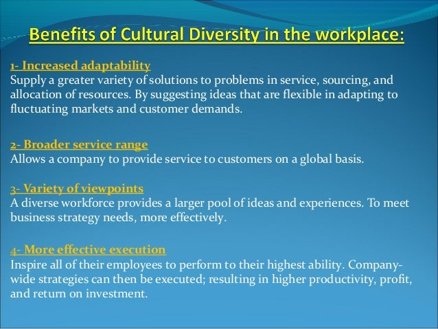 cultural diversity at the workplace Welcome to the qcoss community door etraining course work with diverse people  building relationships based on cultural diversity  within the workplace,.