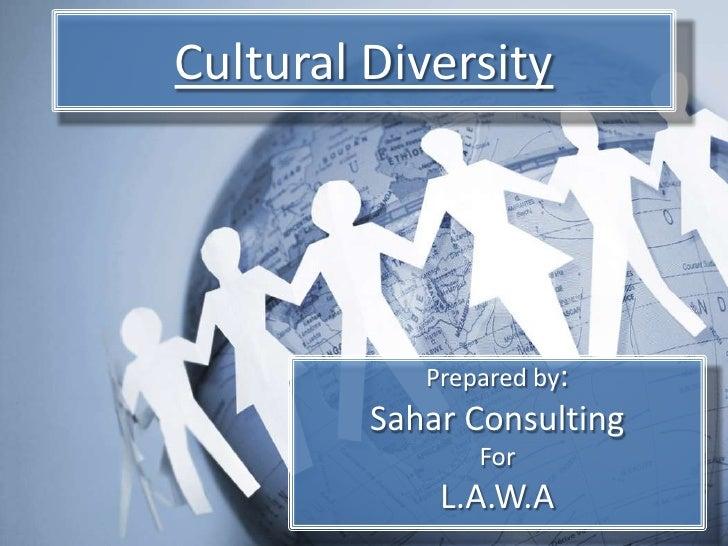 Cultural Diversity LAWA