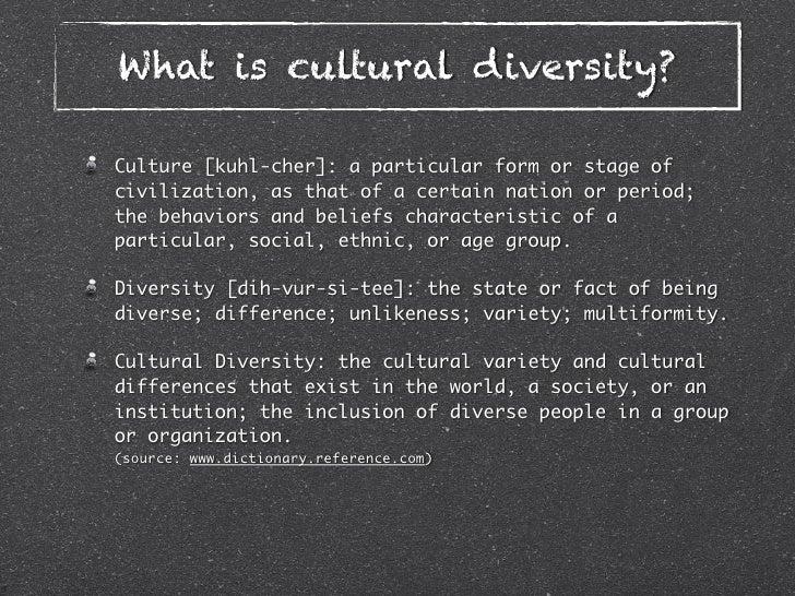 cultural diversity topics for presentation