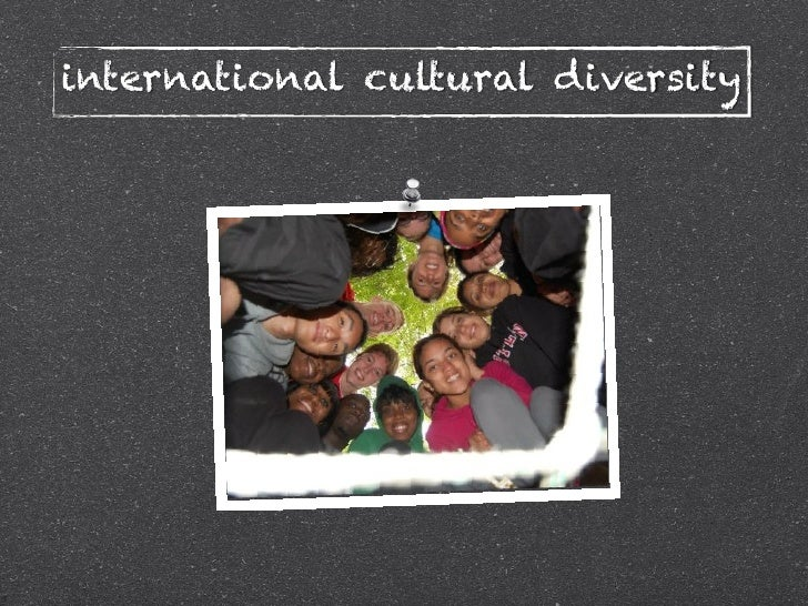 cultural diversity presentation Cultural diversity in the classroom and research on best practices is limited however there are strategies educators can use to work effectively with a broad range of students enrolled in your classes 18 inclusion/exclusion exercise.