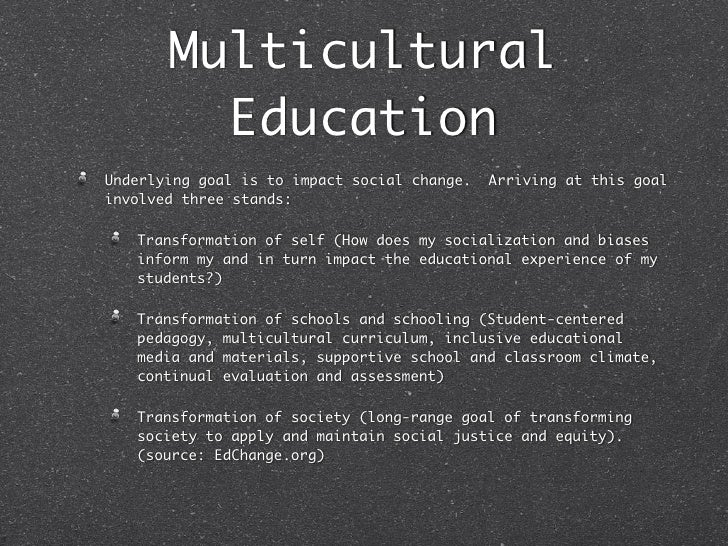 What We Can Learn from Multicultural Education Research