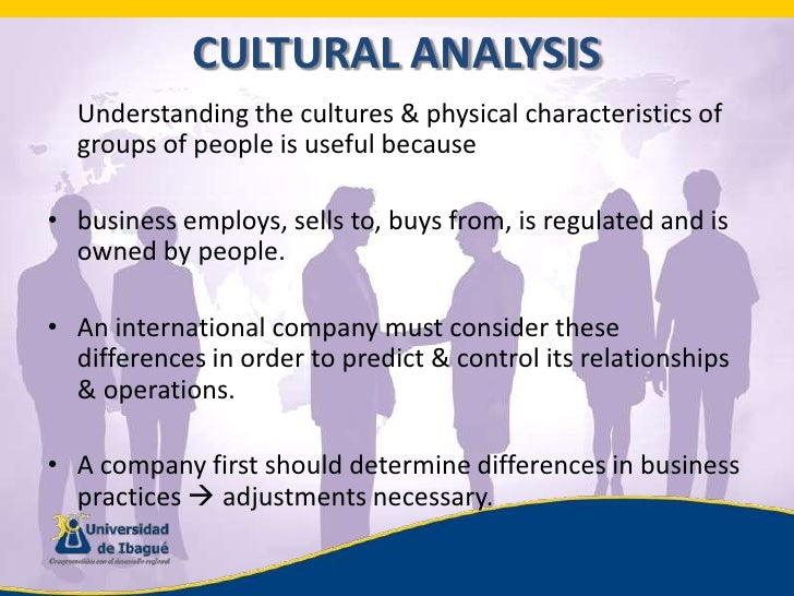 Business and cultural environments shape the