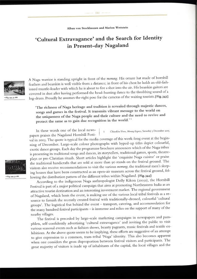 Cultural extravagance identity nagaland