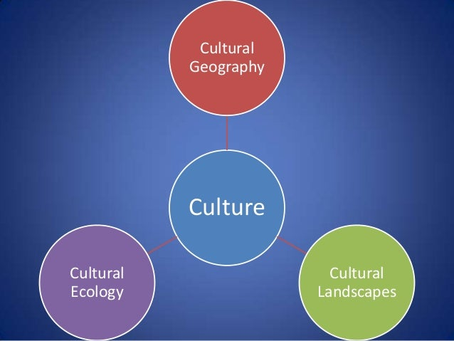 an analysis of cultural landscape of cultural geography The based on research of complexity of cultural landscape and the present situation of china's cultural landscape protection, this paper redefines the methods of cultural landscape, from the perspective of new culture geography's academic claims.
