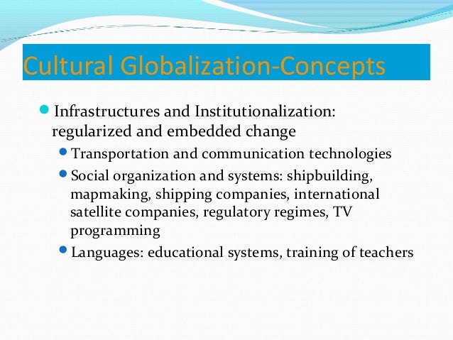 Technology Management Image: Cultural Globalization