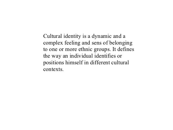 identity formation and development on the internet The introspection of racial identity development author's name institutional affiliation abstract the main purpose of the paper was to reflect the changes in the.