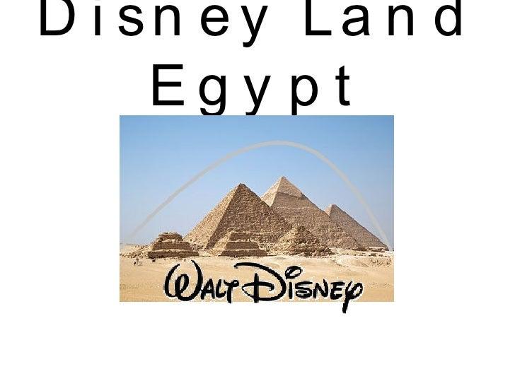 Disney Land Egypt