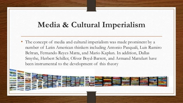 Cultural imperialism essay