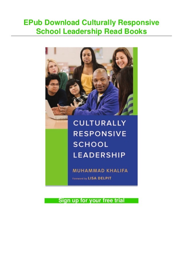 EPub Download Culturally Responsive School Leadership Read Books Sign up for your free trial