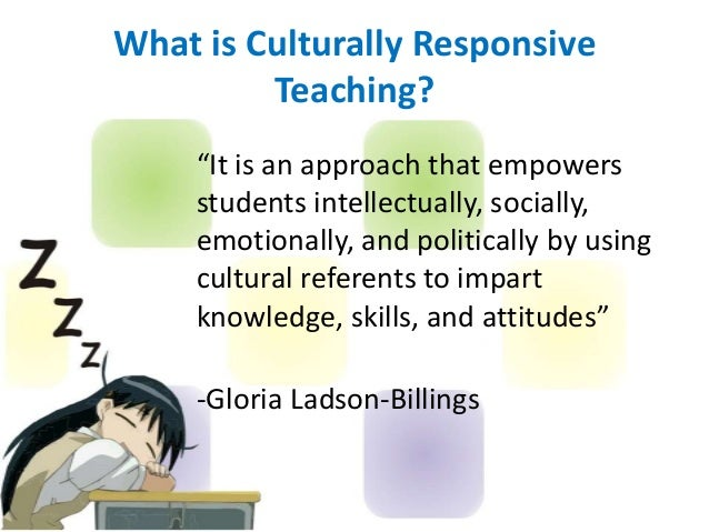 understanding culturally responsive teaching and multicultural educ Educ 602-01 schooling in a multicultural society (d)  co-teaching clinical practice culturally responsive  schooling in a multicultural society-an.