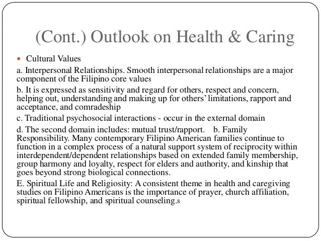 filipino health care practices Culture of the philippines  as workers in the health care field in hopes of being  uninfluenced filipino owned products and practices 144.