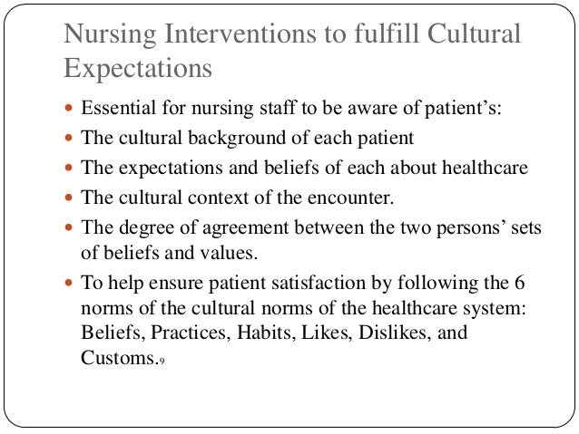 culturally competent nursing care Culturally competent nursing care of the hispanic population a comprehensive exam presented to the faculty of california state university, stanislaus.