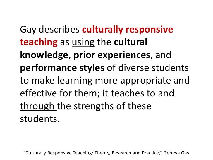 reflection education and culturally diverse students Keywords: culturally relevant teacher education, critical teacher reflection,  teacher  some scholars project that by 2050, racially diverse students will  outnumber.