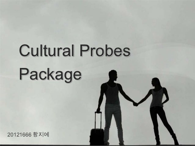 Cultural Probes   Package20121666 황지예
