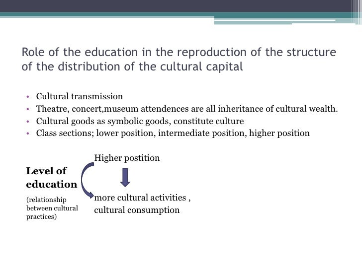 cultural reproduction