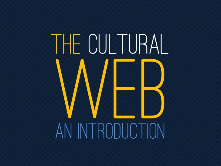 THE CulturalAn introduction