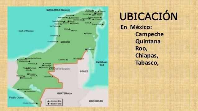Cultura maya for Cultura maya ubicacion