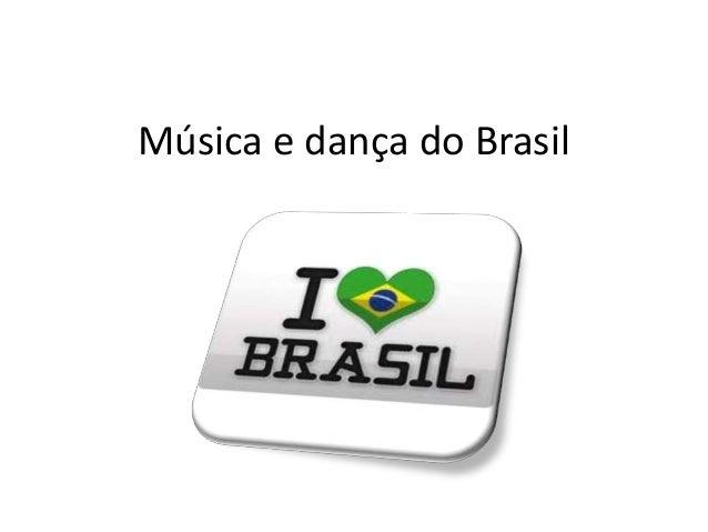 Música e dança do Brasil