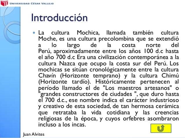 Cultura mochica Slide 3