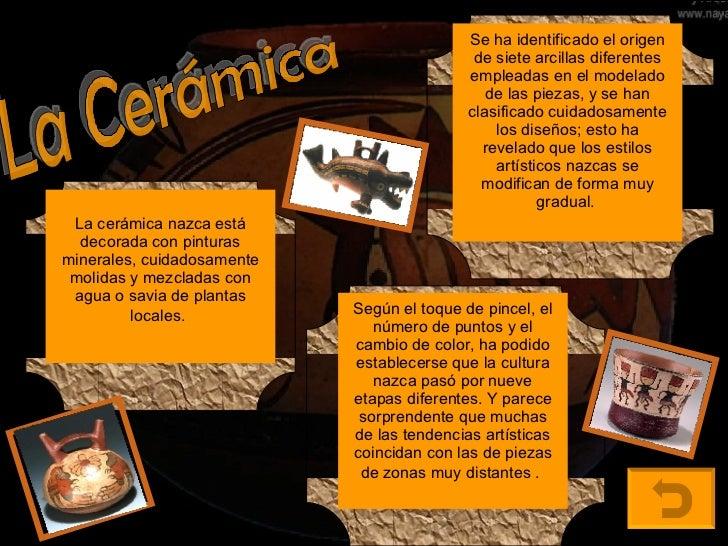 Cultura nazca for Origen de la ceramica
