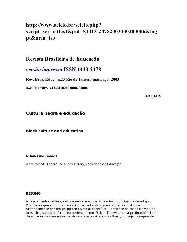 http://www.scielo.br/scielo.php?script=sci_arttext&pid=S1413-24782003000200006&lng=pt&nrm=isoRevista Brasileira de Educaçã...