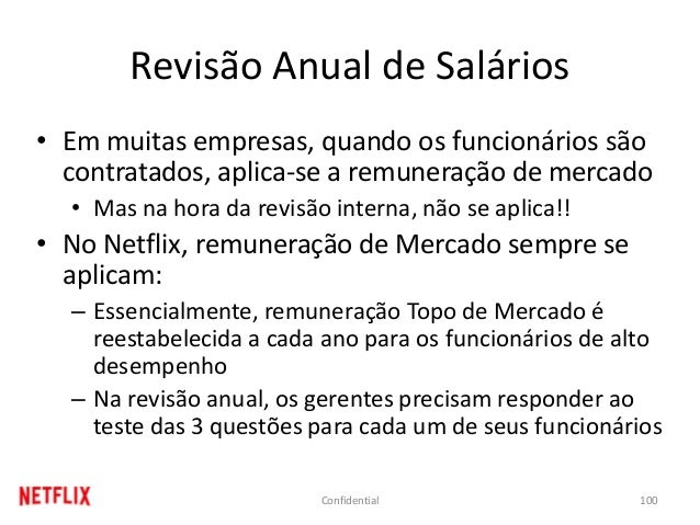 Revisão Anual de Salários • Em muitas empresas, quando os funcionários são contratados, aplica-se a remuneração de mercado...