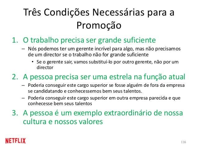 Três Condições Necessárias para a Promoção 1. O trabalho precisa ser grande suficiente – Nós podemos ter um gerente incrív...