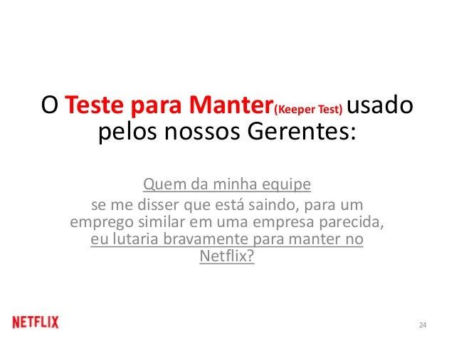 O Teste para Manter(Keeper Test) usado pelos nossos Gerentes: Quem da minha equipe se me disser que está saindo, para um e...