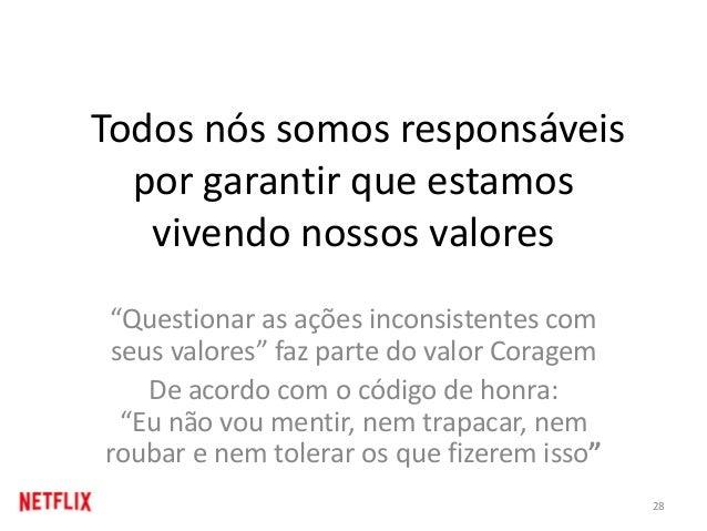 """Todos nós somos responsáveis por garantir que estamos vivendo nossos valores """"Questionar as ações inconsistentes com seus ..."""
