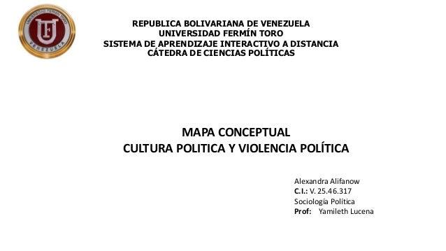 REPUBLICA BOLIVARIANA DE VENEZUELA  UNIVERSIDAD FERMÍN TORO  SISTEMA DE APRENDIZAJE INTERACTIVO A DISTANCIA  CÁTEDRA DE CI...