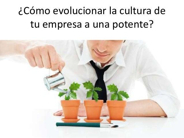 ¿Cómo evolucionar la cultura de tu empresa a una potente?