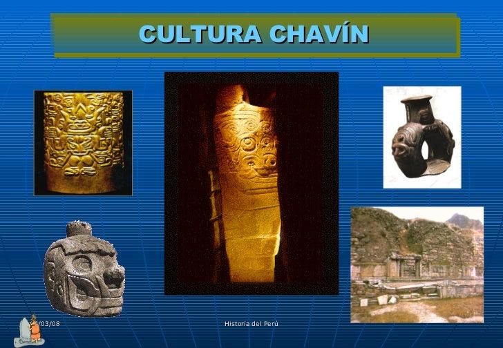 CULTURA CHAVÍN