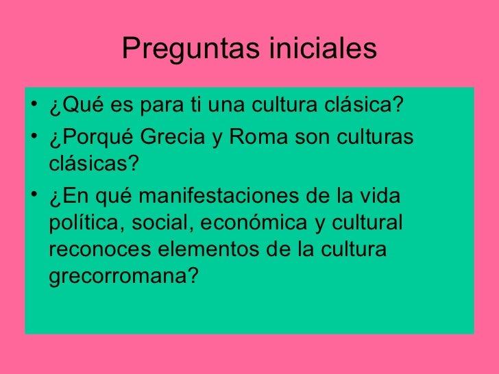 Culturas CláSicas Slide 3