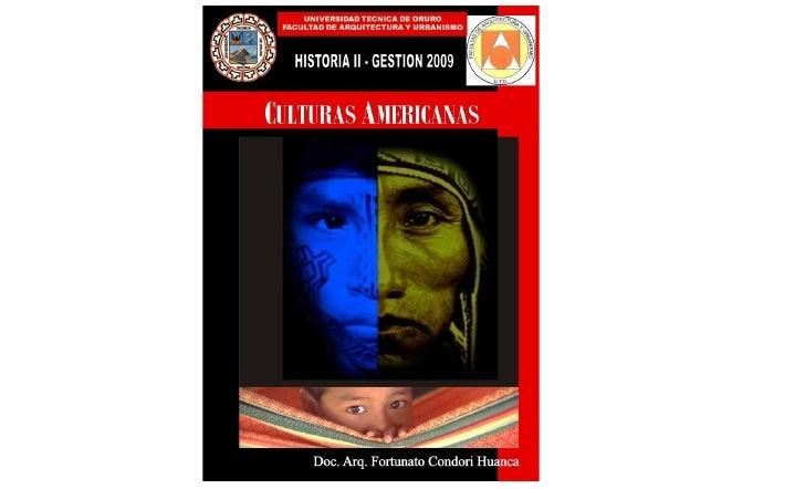 Culturas Americanas
