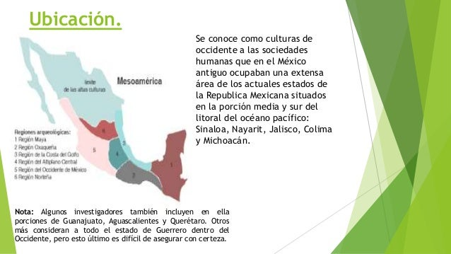 Culturas del occidente de mxico