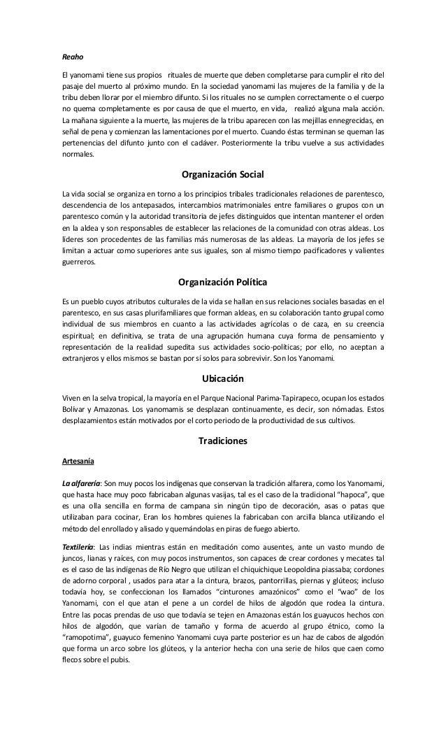 Culturas Indígenas Venezolanas