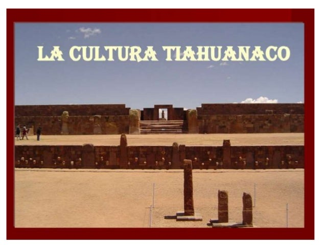 MAPA DE UBICACIÓN DE LA CULTURA TIAHUANACO