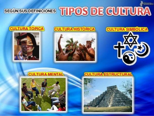 Cultura y edcuacion