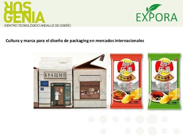 Cultura y marca para el diseño de packaging en mercados internacionales